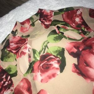 a'gaci Other - Floral Bodysuit